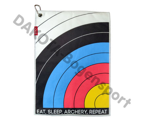"Socx Handtuch ""Eat-Sleep-Archery-Repeat"" FITA"