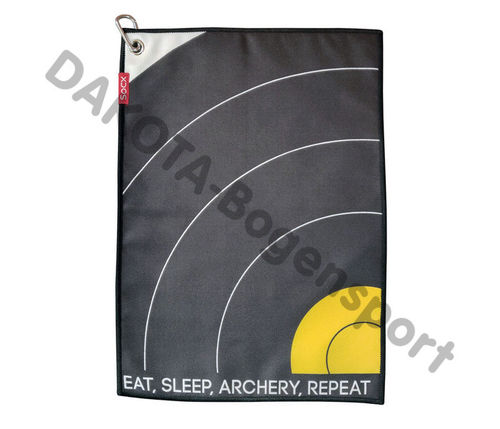 "Socx Handtuch ""Eat-Sleep-Archery-Repeat"" FIELD"